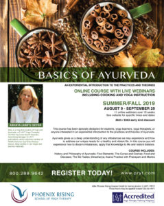 BASICS OF AYURVEDA AN EXPERIENTIAL INTRODUCTION TO THE PRACTICES AND THEORIES