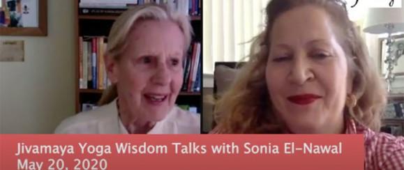 Jivamaya Yoga Wisdom Talks with Chef Sonia El-Nawa